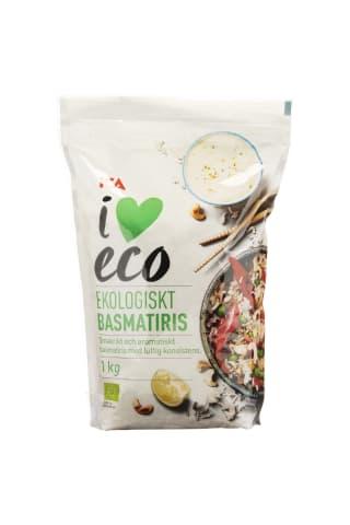 Rīsi I Love Eco basmati 1kg