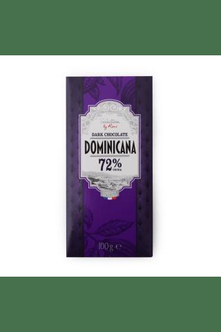 Šokoladas selection by Rimi Dominicana, juodasis 72% 100g