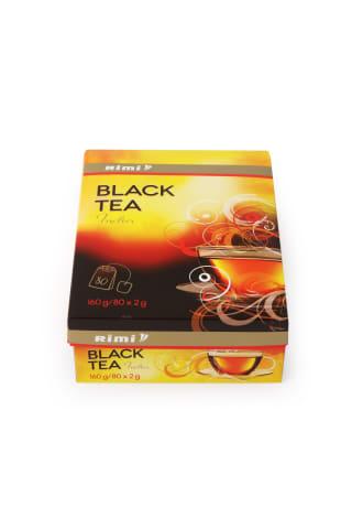 Melnā tēja Rimi 80tm 160g