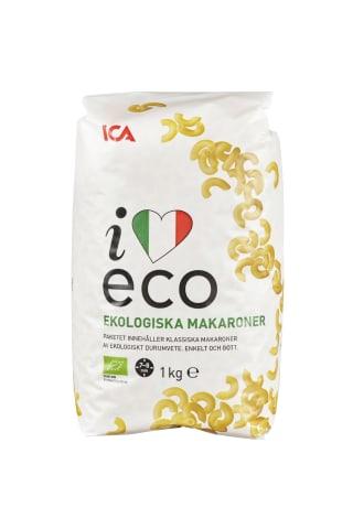 Pasta I Love Eco Makaroner 1kg