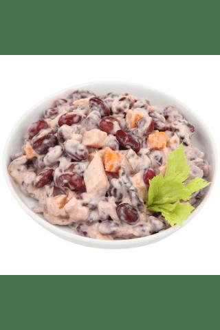 Salāti RIMI pupiņu ar kūpinātu vistu kg