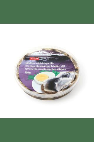 Brētliņu filejas ar garšvielām eļļā Rimi, 150g