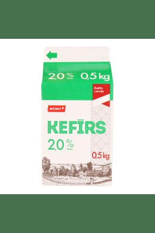 Kefīrs 2% Rimi 0.5kg