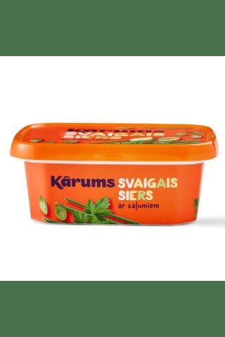 Svaigais siers Kārums ar zaļumiem 175g