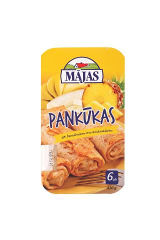 Pankūkas ar banānu un ananāsu pild. 420g