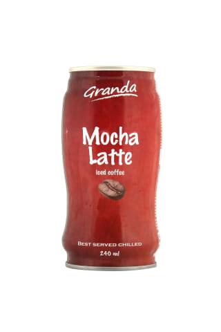 Aukstās kafijas dzēriens Granda Mocha Latte 240ml