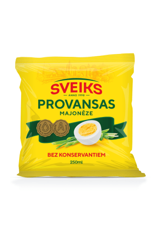 Majonēze Provansas 67% 250ml