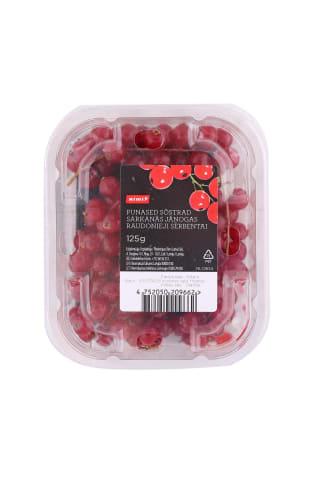 Raudonieji serbentai RIMI, 125 g