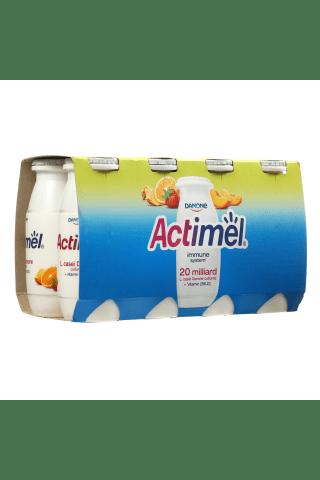 Jogurto gėrimas vaisinis ACTIMEL, 8 vnt × 100 g