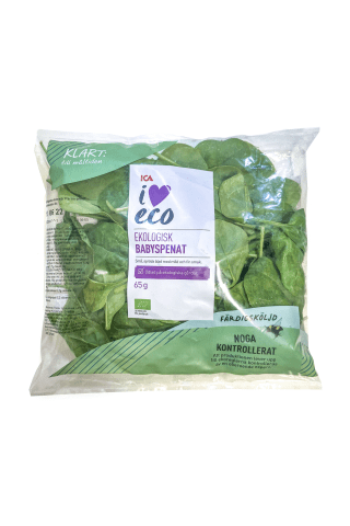Smalklapu spināti,love eco, Ica, 65g