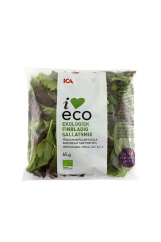 Salātu mix , I love eco, Ica, 65g