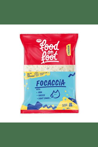 Sumuštinis su kumpiu ir sūriu FOCACCIA, 200 g