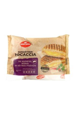 Aštrus sumuštinis FOCCACIA su kumpiu ir sūriu, 200 g