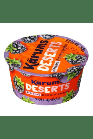 Varškės desertas su gervuogėmis KĀRUMS, 140 g