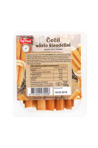 Rūkyto sūrio lazdelės 100g