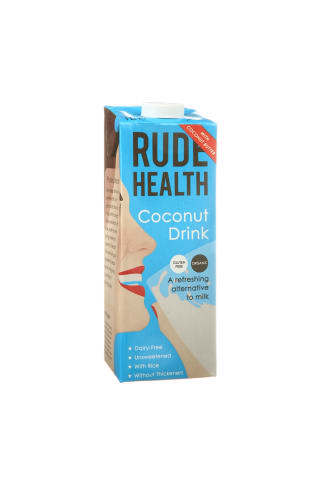 Kokosų gėrimas be gluteno RUDE HEALTH, 1 l