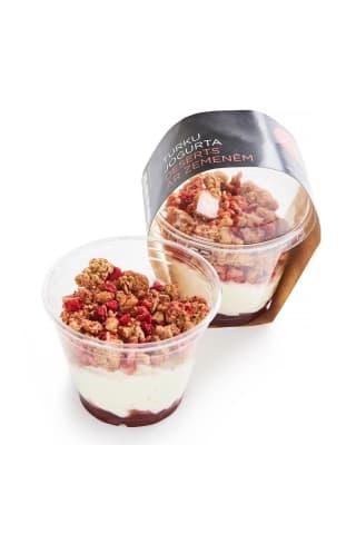 Turku jogurta deserts zemeņu 190g