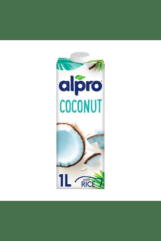 Kokosų ir ryžių gėrimas be laktozės, be dirbitnių konservantų ALPRO,1 l