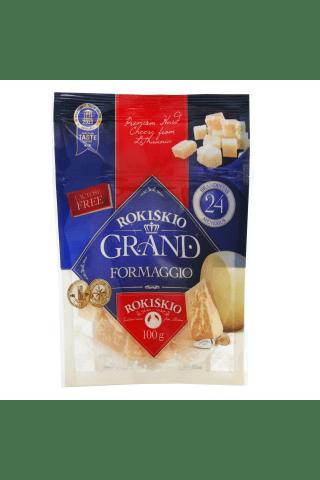 Kietasis sūris ROKIŠKIO GRAND, 24 mėn, 100 g