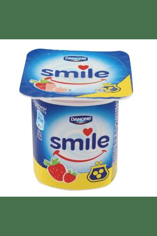 Jogurtas su braškėmis SMILE , 115 g