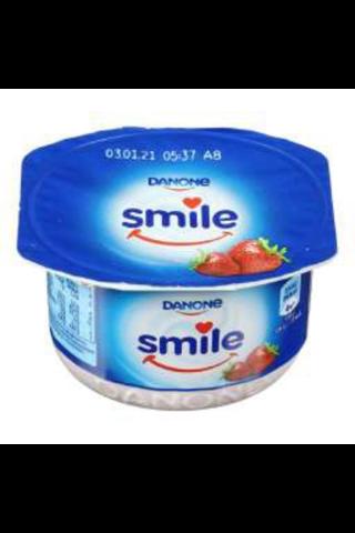 Smile Jogurta Deserts Ar Zemeņu Garšu 115G