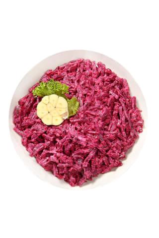 Burokėlių salotos su česnakais, kg