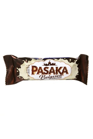 Belgišku šokoladu glaistytas varškės sūrelis su kondensuotu pienu PASAKA, 20% rieb., 45 g