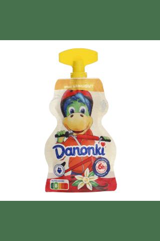 Jogurtas vanilės skonio DANONKI, 70 g