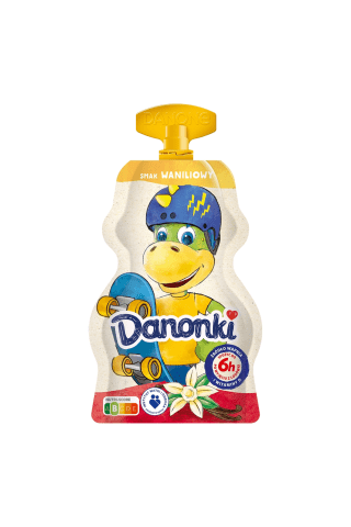 Jogurts Danonki ar vaniļas garšu 70g