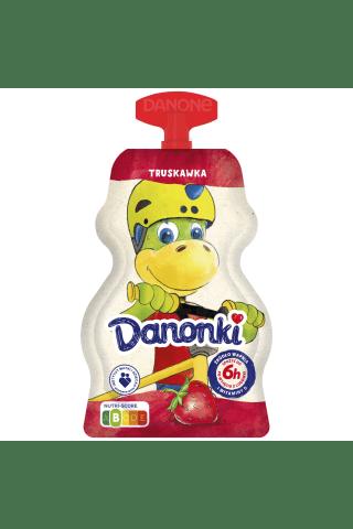 Jogurts Danonki ar zemeņu garšu 70g