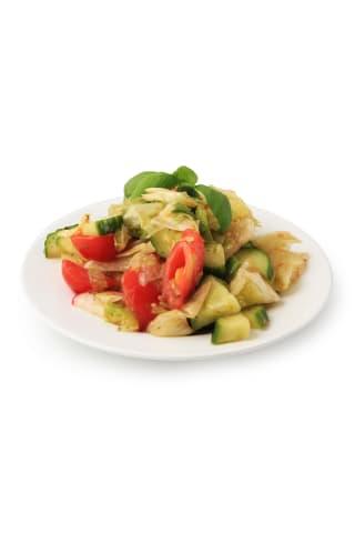 Dārzeņu salāti ar Grieķu mērci, kg