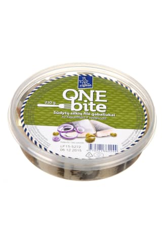 Silkių filė gabaliukai su kaparėliais ir svogūnais ZIGMAS ONE-BITE, 210 g