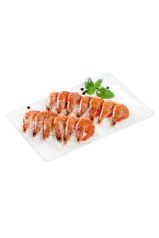 Atitirpintos virtos baltakojės blyškiosios krevetės, 1 kg