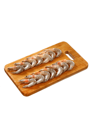 Baltakojės blyškiosios krevetės, atšildytos, kg