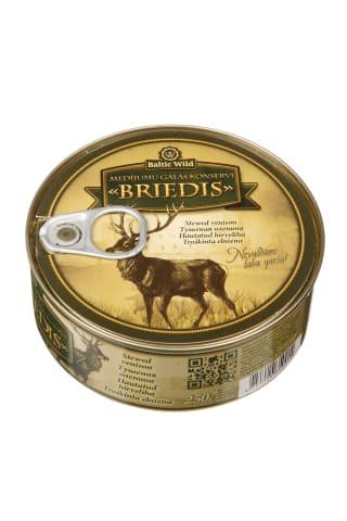 Troškinta elniena BALTIC WILD, 250 g