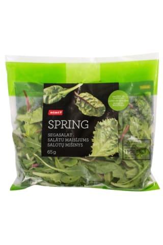 Salātu maisījums Spring, Rimi, 65g