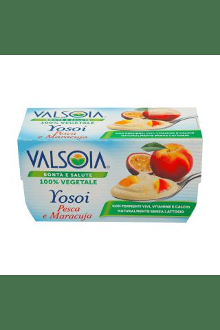 Jogurts Yosoi ar persikiem un marakuju 250g