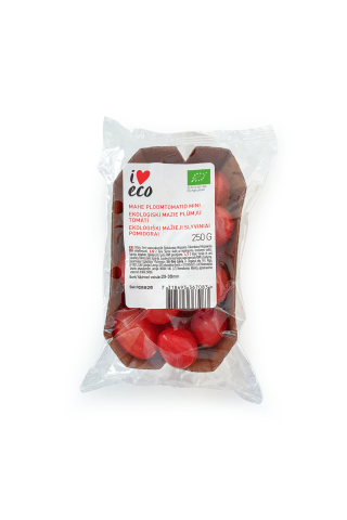 Tomāti plūmes mini, I Love Eco, 250g