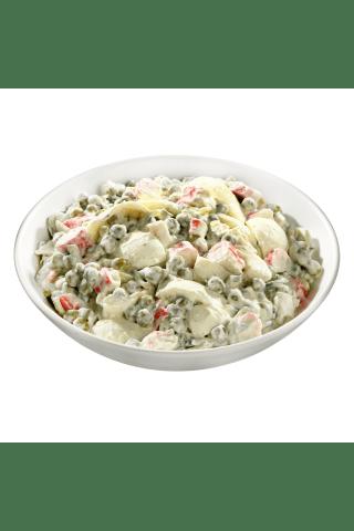 Kiaušinių salotos su krabų skonio lazdelėmis,1 kg