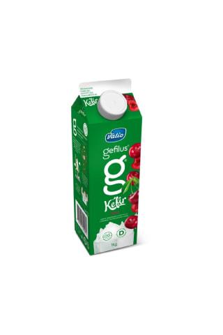 Kefīrs Gefilus 2.5% ar ķiršu garšu 1kg