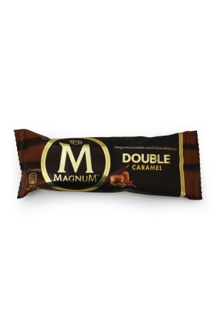 Saldējums Magnum double karameļu 88ml
