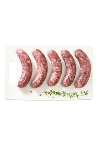 Šviežios jautienos ir kiaulienos dešrelės, 1 kg