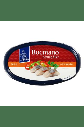 Silkių filė su paprikomis ZIGMAS Bocmano, 300 g