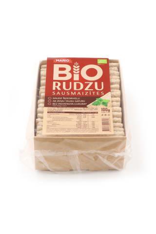 Sausmaizītes Bio rudzu 100g