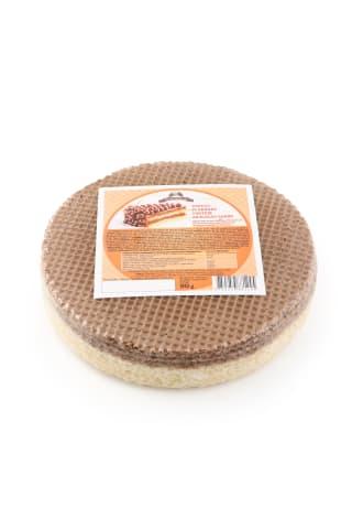 Vafeļu plāksnes tortēm Vecais Beķeris ar kakao garšu 90g