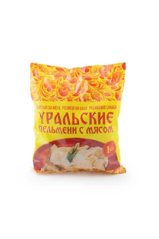 Pelmeņi ar gaļu Uraļskije 1kg