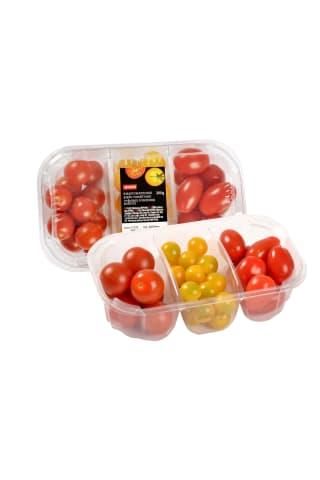 Mažųjų vyšninių pomidorų mišinys, 300g