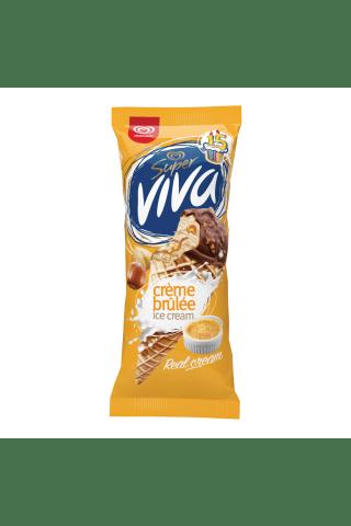 Saldējums Super Viva krēms brulē 180ml