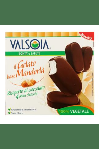 Saldējums Valsoia mandeļu 4x50g
