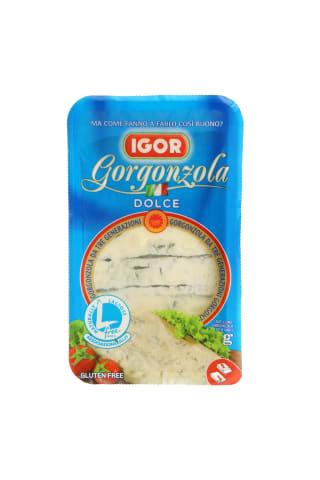 Pelėsinis sūris GORGONZOLA DOLCE, 48% riebumo, 200g
